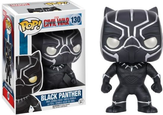 POP! Funko Pantera Negra - Guerra Civil # 130