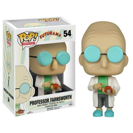 POP! Funko Animation: Professor Farnsworth - Futurama # 54