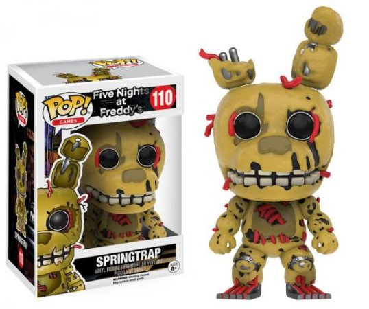 POP! Funko Games: Springtrap - Five Nights at Freddy's # 110