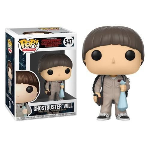 POP! Funko Television: Ghostbuster Will - Stranger Things # 547