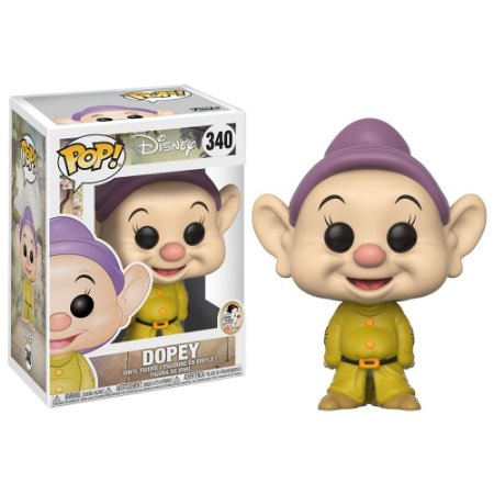 POP! Funko Disney: Dopey / Dunga - Edição aniversário 80 anos # 340