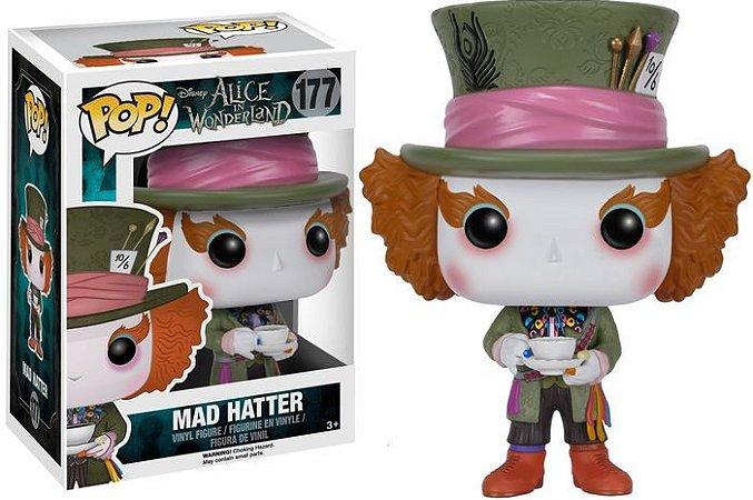 POP! Funko Disney: Mad Hatter / Chapeleiro Maluco - Alice No país das maravilhas # 177