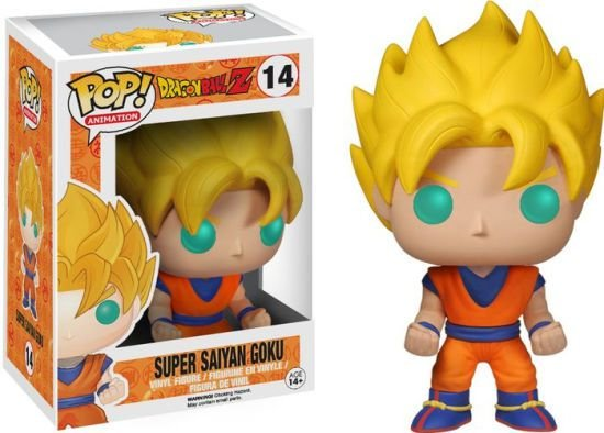 POP! Funko Animation: Super Saiyajin Goku - DragonBall Z # 14