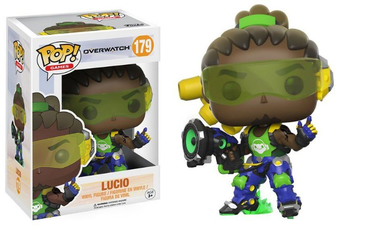 POP! Funko Games: Lucio- Overwatch # 179