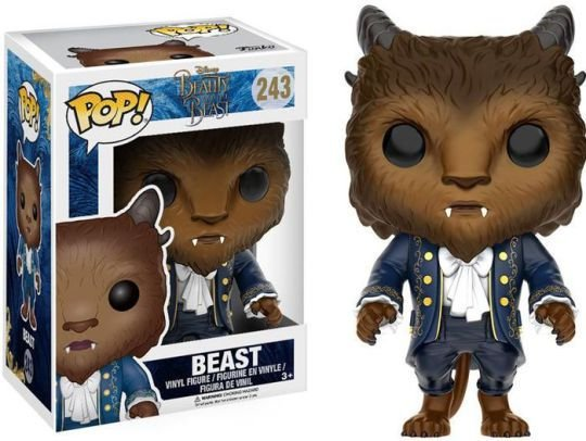 POP! Funko Disney: Beast / Fera - Beauty and the Beast / A Bela e a Fera # 243