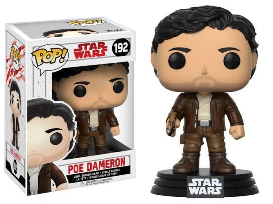POP! Funko Star Wars: Poe Dameron - O Ultimo Jedi # 192
