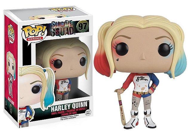 POP! Funko Heroes: Harley Quinn - Suicide Squad / Esquadrão Suicida # 97