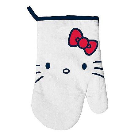 Luva Térmica de Cozinha em Algodão Hello Kitty - SanRio