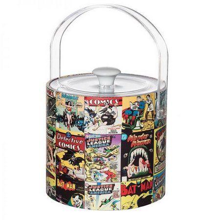 Balde de Gelo c/Pegador Quadrinhos - DC Comics