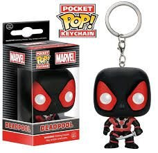 Chaveiro Pocket POP! Funko Marvel - Deadpool