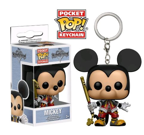 Chaveiro Pocket POP! Funko Kingdon Hearts - Mickey