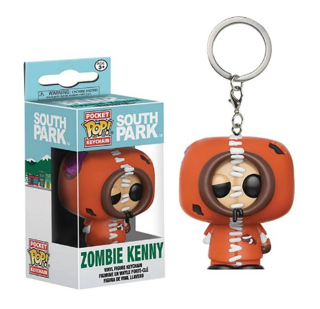Chaveiro Pocket POP! Funko South Park - Zombie Kenny