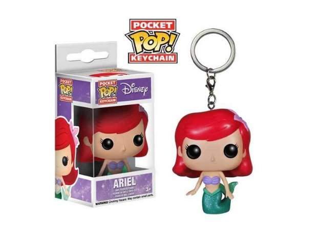 Chaveiro Pocket POP! Funko Disney - Ariel