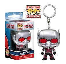 Chaveiro Pocket POP! Funko Civil War - Ant-Man