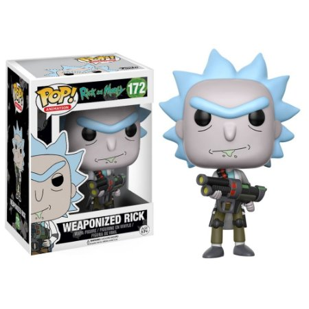 POP! Funko: Rick and Morty - Weaponized Rick # 172
