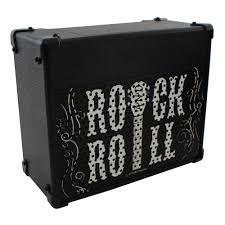 Amplificador / Speaker por Indução s/ Fio 5W - Caixa de Som Rock´n Roll