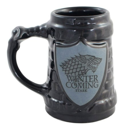Caneca 3D 500ml Stark - Game of Thrones