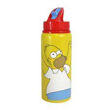 Squeeze de Alumínio 600ml Homer Simpson Comemoração