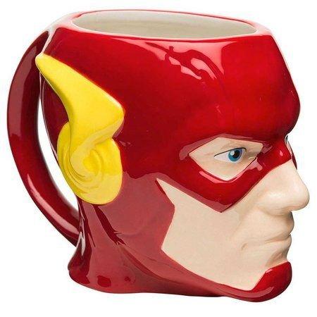 Caneca Porcelana 3D Flash 312ml - DC Comics