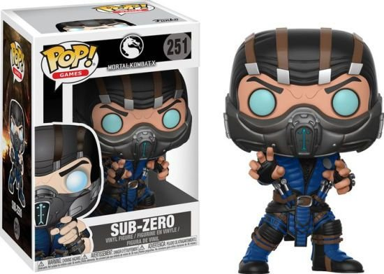 POP! Funko Games: Sub-Zero Mortal Kombat X # 251
