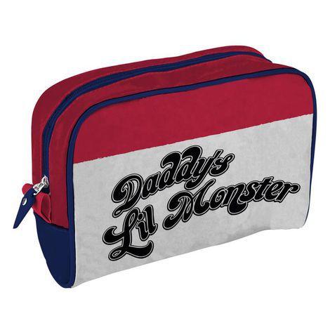 Necessaire Uniforme Harley Quinn - Daddys Lil Monster - DC Comics