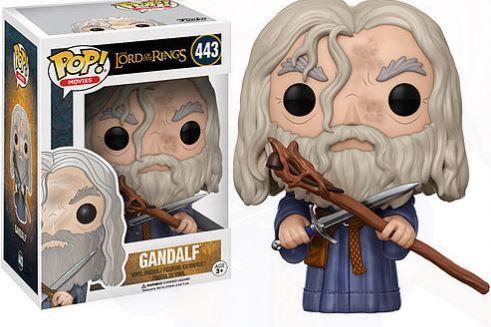 POP! Funko Movies: Senhor dos Aneis - Gandalf # 443