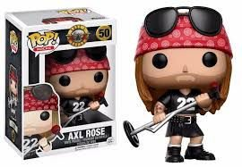 POP! Funko Rocks: Axl Rose - Guns and Roses #50