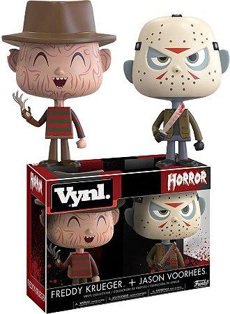 Funko Vynl Horror Classics: Freddy Krueger e Jason Voorhees
