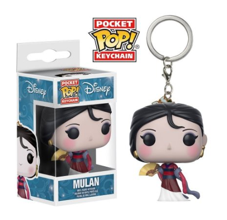 Chaveiro Pocket POP! Funko Disney - Mulan