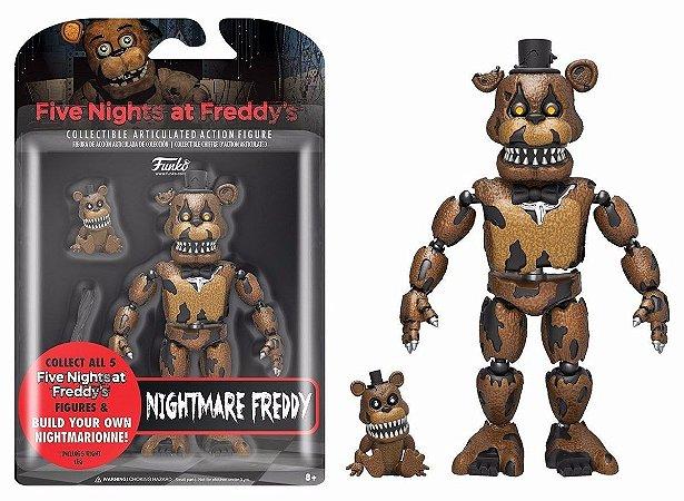 Boneco Articulado Funko Nightmare Freddy - FNAF