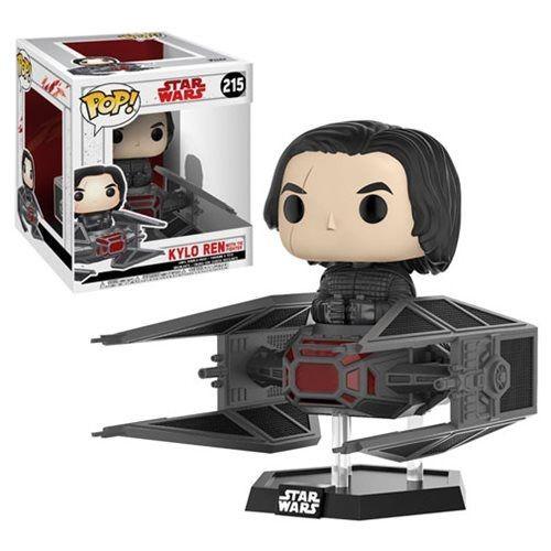 POP! Funko Kylo Ren with Tie Fighter # 215 - Star Wars O Último Jedi