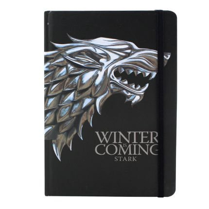 Caderno de Anotações s/ pauta Game Of Thrones - Stark