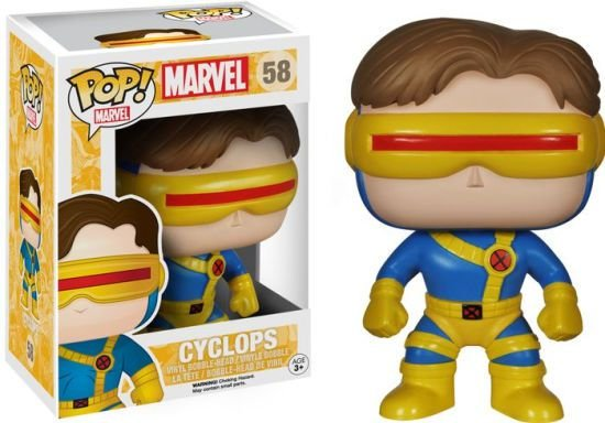 POP! Funko Marvel: X-Men Cyclops / Ciclope # 58