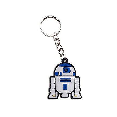 Chaveiro Emborrachado Cute Droide R2