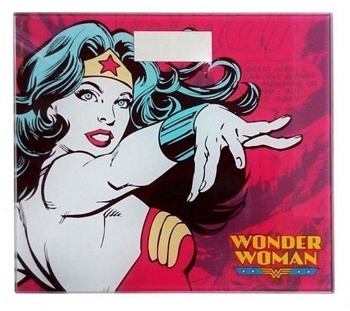 Balança de Vidro Digital Mulher Maravilha - DC Comics