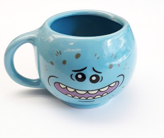 Caneca Redonda Mr. Meeseeks - Rick and Morty