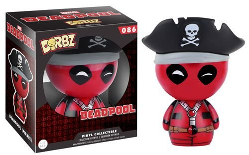 Dorbz Marvel Deadpool Pirata # 086| Funko