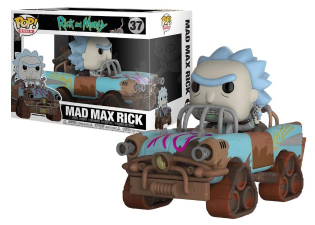 Funko POP! Rides Rick & Morty: Mad Max Rick #37