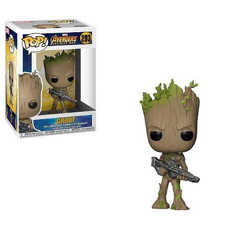 POP! Funko Infinity War: Groot with Blaster # 293