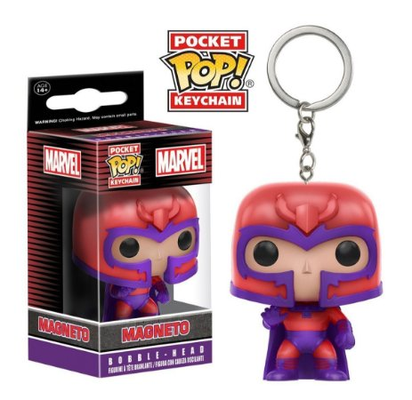 Chaveiro Pocket POP! Funko: Magneto - Xmen
