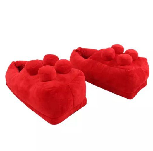 Pantufa Tamanho Único - Lego Vermelho