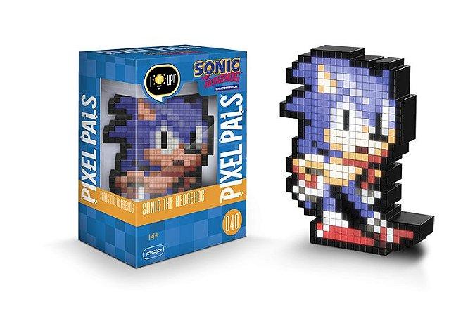 Luminária 8 Bit Pixel Pals Sega - Sonic