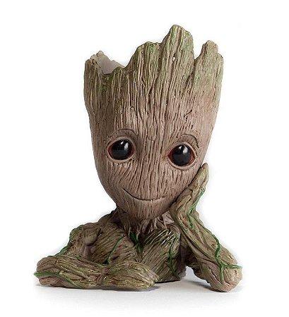 Vaso / Cachepô Resina Baby Groot - Guardiões da Galáxia