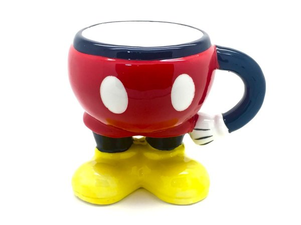Caneca 3D 350ml Corpo Mickey Mouse - Disney