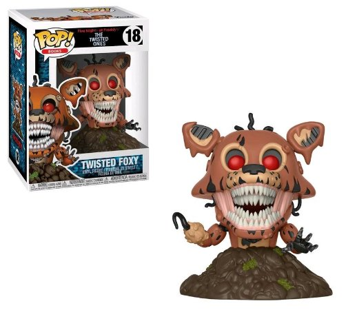 POP! Funko FNAF - The Twisted Ones - Twisted Foxy # 18