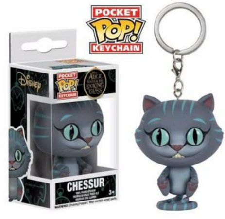 Chaveiro Pocket POP! Funko Alice - Chessur