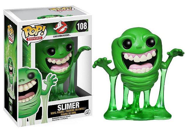 POP! Funko Ghostbusters: Slimer | Geléia # 108
