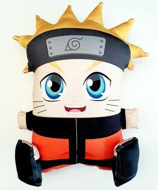 Almofada CuboArk 3D Formato Naruto