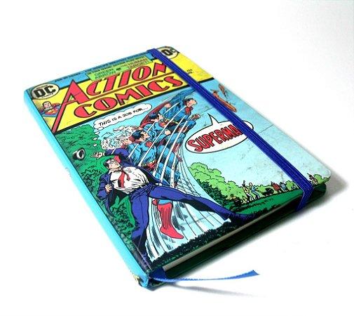 Caderneta DC Comics Capa Super Homem