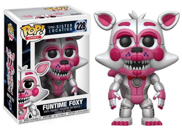 POP! Funko FNAF Sister Location: FunTime Foxy # 228